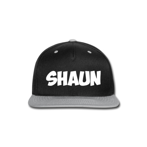 Shaun Logo Shirt - Snap-back Baseball Cap