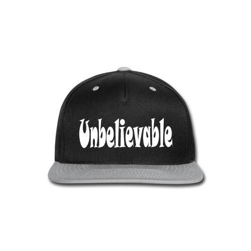 T-shirt (black) - Snap-back Baseball Cap