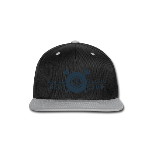 Anchored Bootcamp Navy logo - Snap-back Baseball Cap