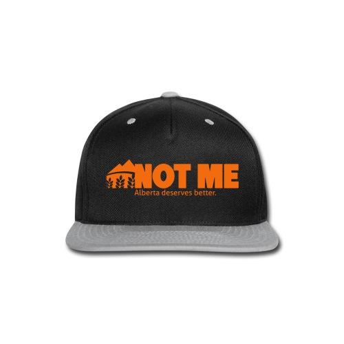NDP doesn't speak for ME! - Snap-back Baseball Cap