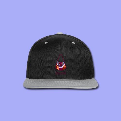 Bilum artwork - Snap-back Baseball Cap