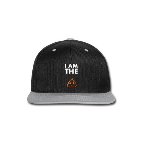 I am the shit T-shirt - Snap-back Baseball Cap