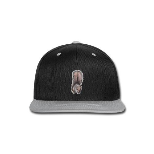 Gray squirrel - Snap-back Baseball Cap