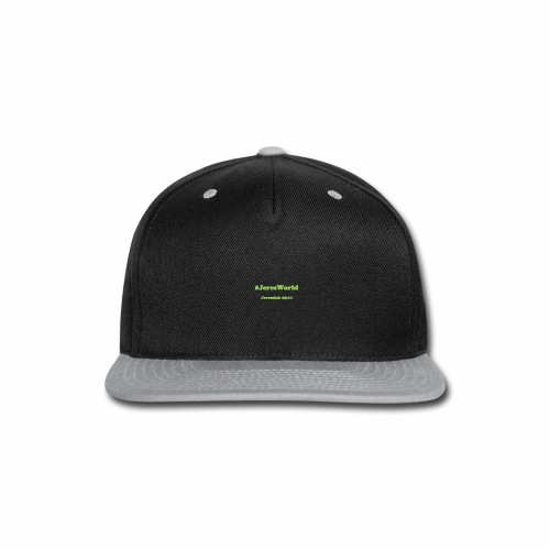 JeresWorld - Snap-back Baseball Cap