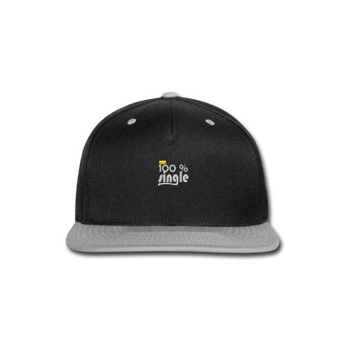 single - Snap-back Baseball Cap