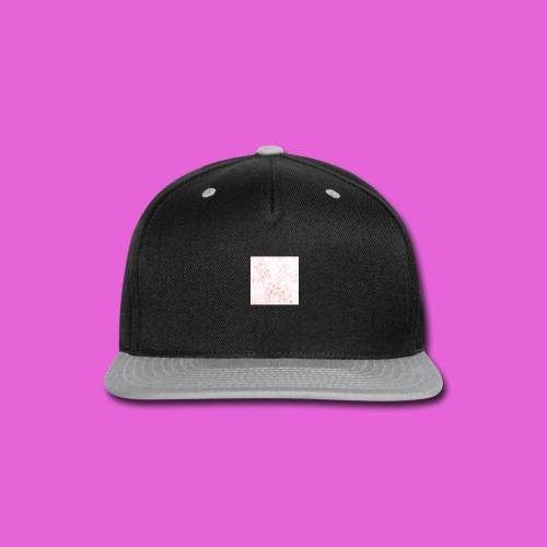 cute flower design - Snap-back Baseball Cap