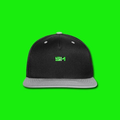 SloMotion logo - Snap-back Baseball Cap