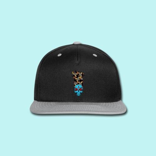 90s KID SKULLY - Snap-back Baseball Cap