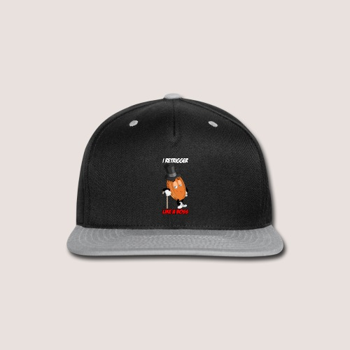 THE RETRIGGER PENNY WITH TEXT - Snap-back Baseball Cap