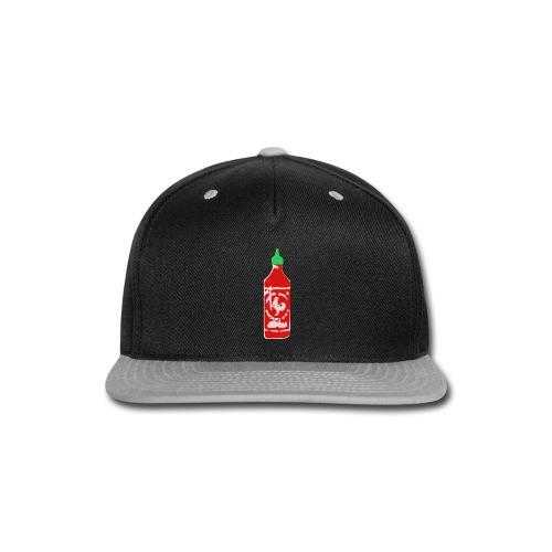 Hot Sauce Bottle - Snap-back Baseball Cap