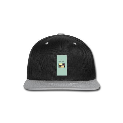 gym challange - Snap-back Baseball Cap