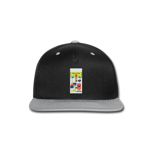iphone5screenbots - Snap-back Baseball Cap