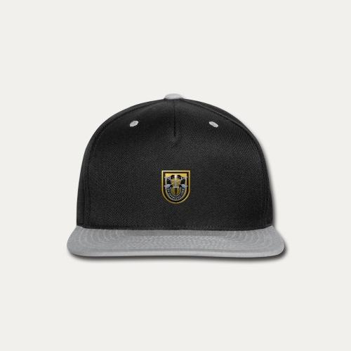 1st Special Forces MilSim Logo - Snap-back Baseball Cap