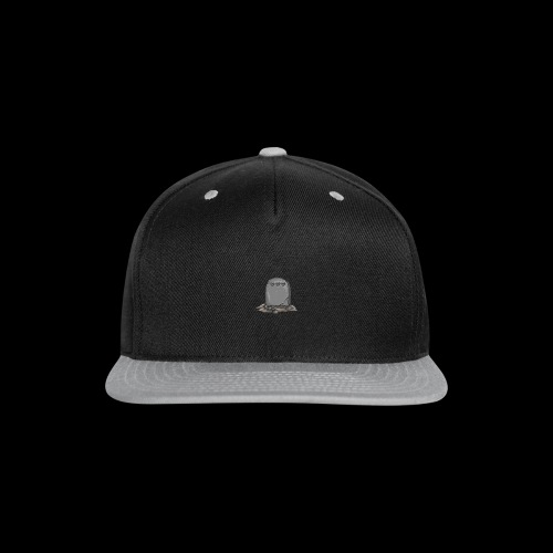 No Life Left | Funny Gamer Grave - Snap-back Baseball Cap