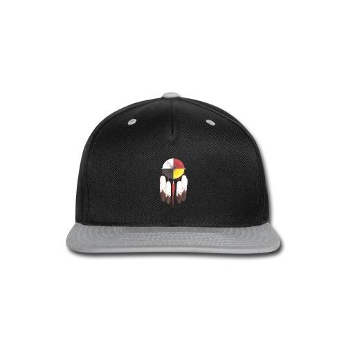 MMIWMedicinewheelshield - Snap-back Baseball Cap