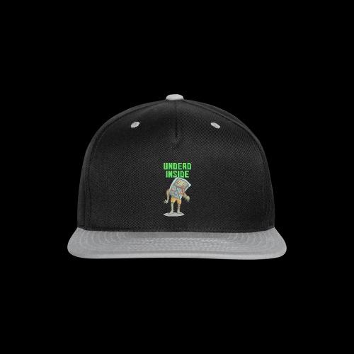 Zombie Video Game | Funny Zombie Pizelart - Snap-back Baseball Cap