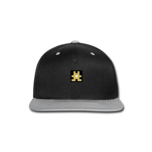 YELLOW hashtag - Snap-back Baseball Cap