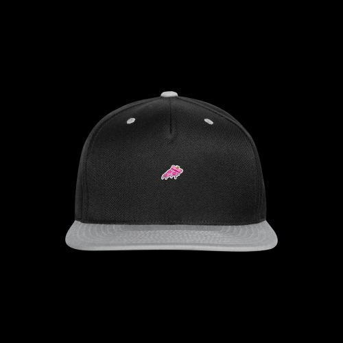 pink pizza - Snap-back Baseball Cap