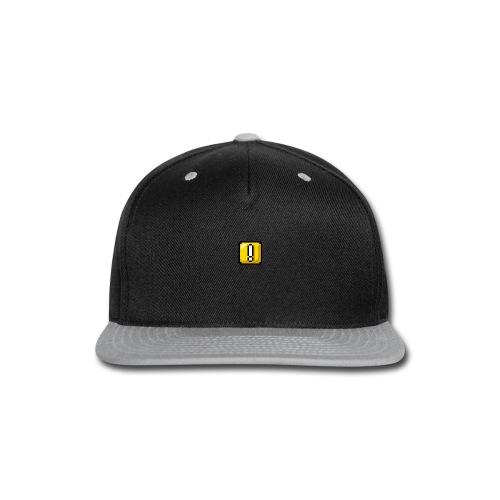 Overstride logo - Snap-back Baseball Cap