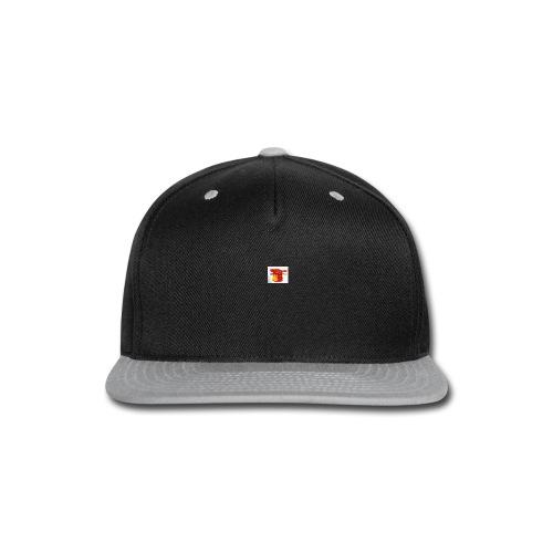 paint drip shirt - Snap-back Baseball Cap