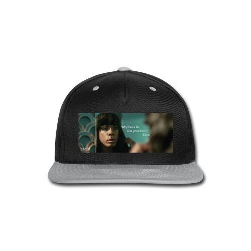 Coco Why Live a Lie - Snap-back Baseball Cap
