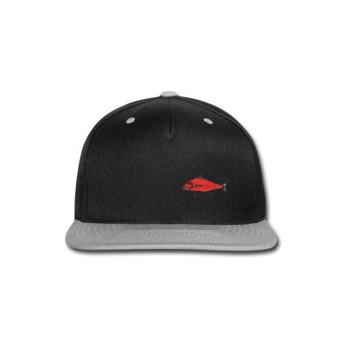 strawberry fish! - Snap-back Baseball Cap