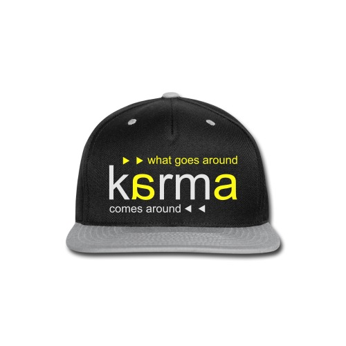 Karma Yellow - Snap-back Baseball Cap