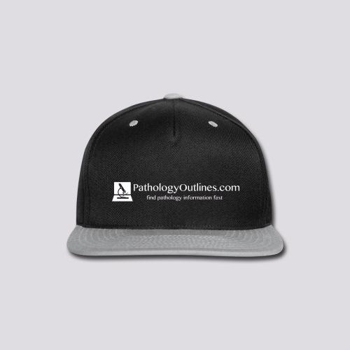 Pathology Outlines Full Logo - Snap-back Baseball Cap