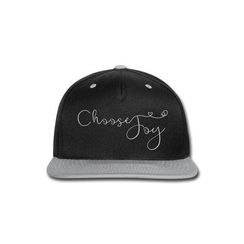 Choose Joy - Snap-back Baseball Cap