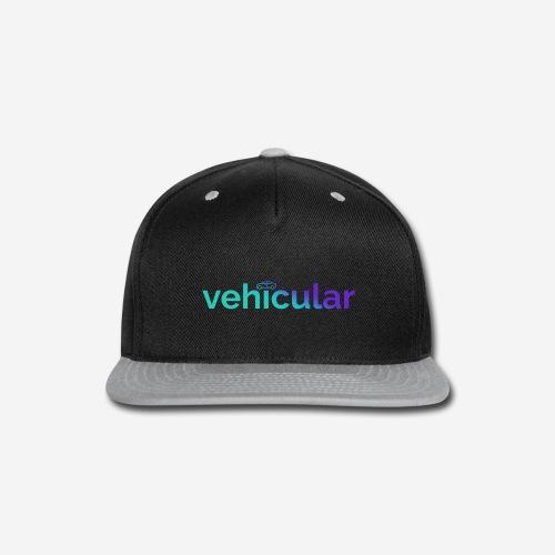 Vehicular & PL8SRUS - Snap-back Baseball Cap