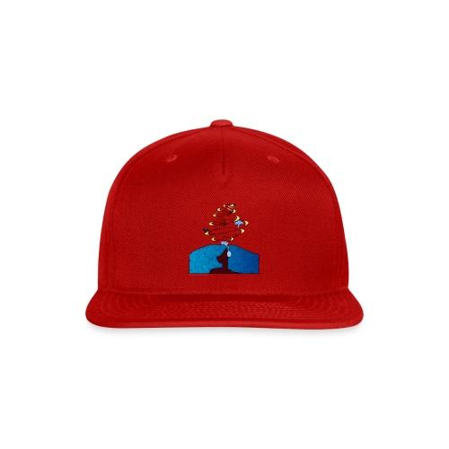 Girl and name shirt - Snap-back Baseball Cap