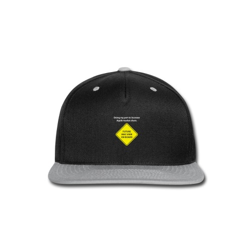 macuseronboard - Snap-back Baseball Cap