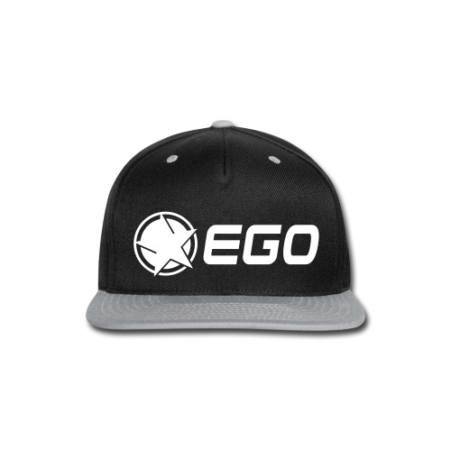 EGO Star With Text - Snap-back Baseball Cap