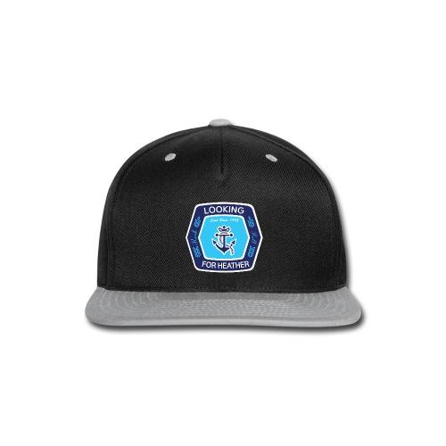 Looking For Heather Stock Logo - Snap-back Baseball Cap