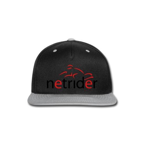 Netrider Logo - Snap-back Baseball Cap