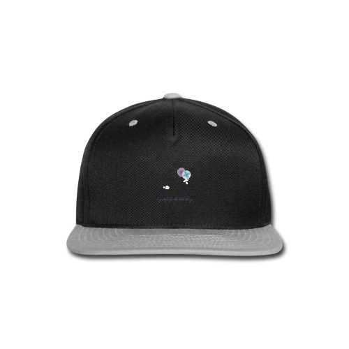 Be grateful for the little things - Snap-back Baseball Cap