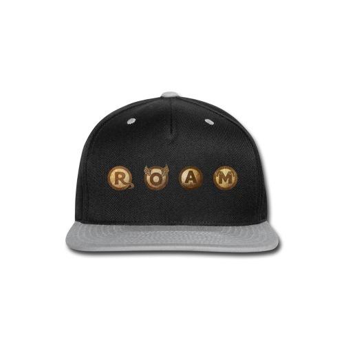 ROAM letters sepia - Snap-back Baseball Cap