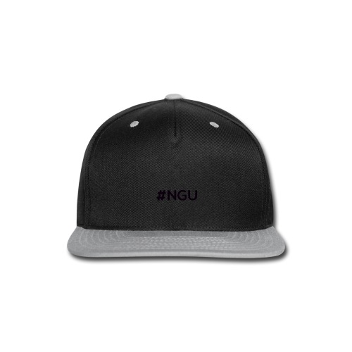 logo 11 final - Snap-back Baseball Cap