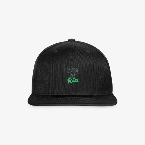 Ready.Set.Action! - Snap-back Baseball Cap