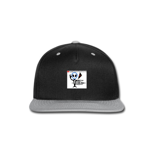 Tshirt NewOTLogo with Crew Back Logo - Snap-back Baseball Cap