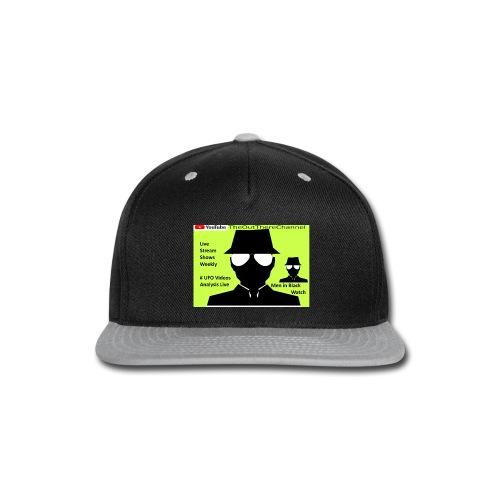 Mib 2 Men with Back Crew Logo - Snap-back Baseball Cap