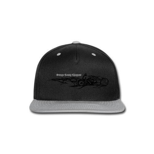 Sketch Rider Front - Snap-back Baseball Cap