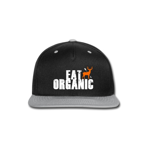 Eat Organic with the Big Buck Registry - Snap-back Baseball Cap