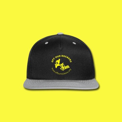 2Yellow Logo png - Snap-back Baseball Cap