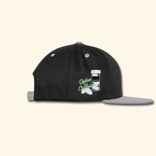 Northern Lights Cannabis tshirt Québec Chillicious - Snap-back Baseball Cap