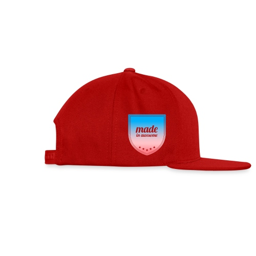 Made in Awesome - Snap-back Baseball Cap