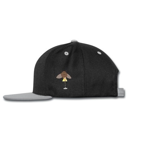 Moth + Lamp At Night - Snap-back Baseball Cap