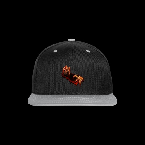 Zombie Shirts Gory Halloween Scary Zombie Gifts - Snap-back Baseball Cap