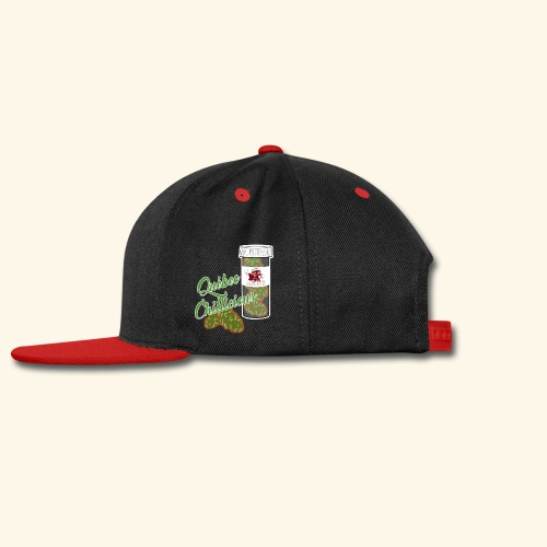 RED SKUNK Cannabis tshirt Québec Chillicious - Snap-back Baseball Cap