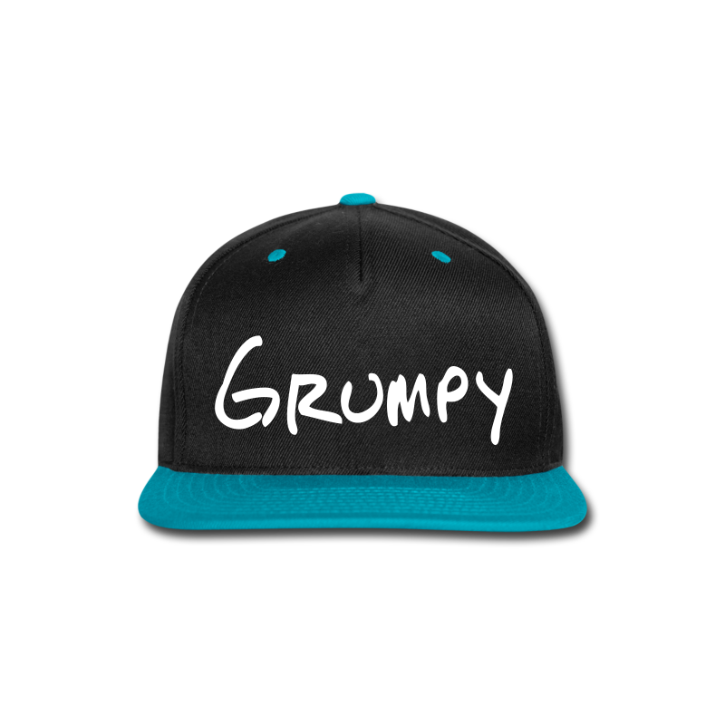 Grumpy - Snap-back Baseball Cap
